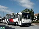Ikarus 263.01 #GKZ-107 - Alba Volán Zrt.  - Székesfehérvár, Autóbusz állomáson.